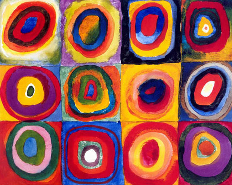 Image result for kandinsky circles tree