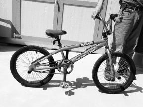 Mongoose BMX style bike