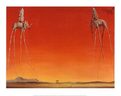 Salvador Dali Elephants
