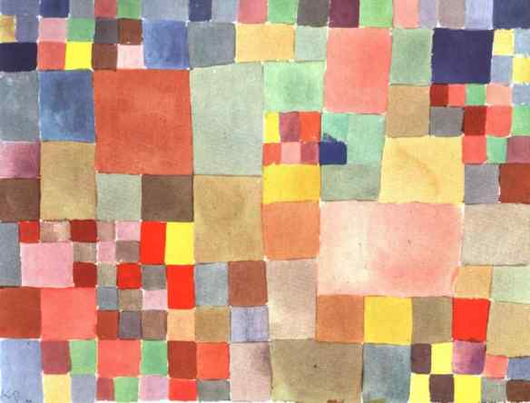 Klee's Flora On Sand is the inspiration for our background--1927