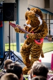 Our Terrific Tiger during his guitar solo.