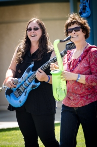 Mrs. Sadowsky and Mrs. Martin rockin' together.