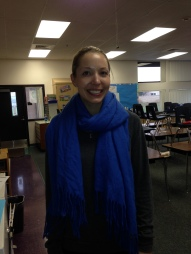 Lara Landry, Student Teacher with Mr. Blumfield