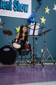 Alexa on the drums!