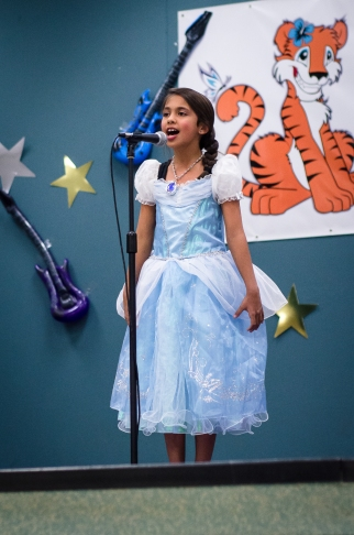 "Maya singing ""Let It Go"""