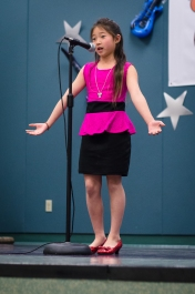 "Alyssa reciting the poem ""Food?"""